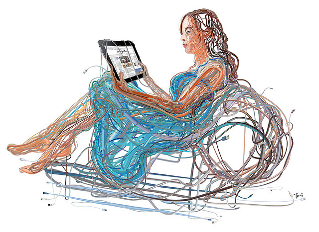 iPad Woman: The wired and wireless future of media and infotainment by Charis Tsevis