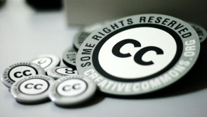 Creative Common Buttons and coaster